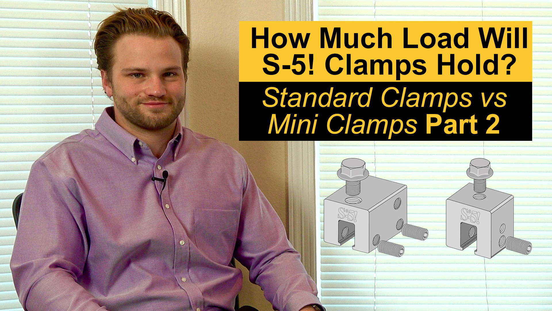 How Much Load Will S-5! Clamps Hold? Standard vs Mini Clamps