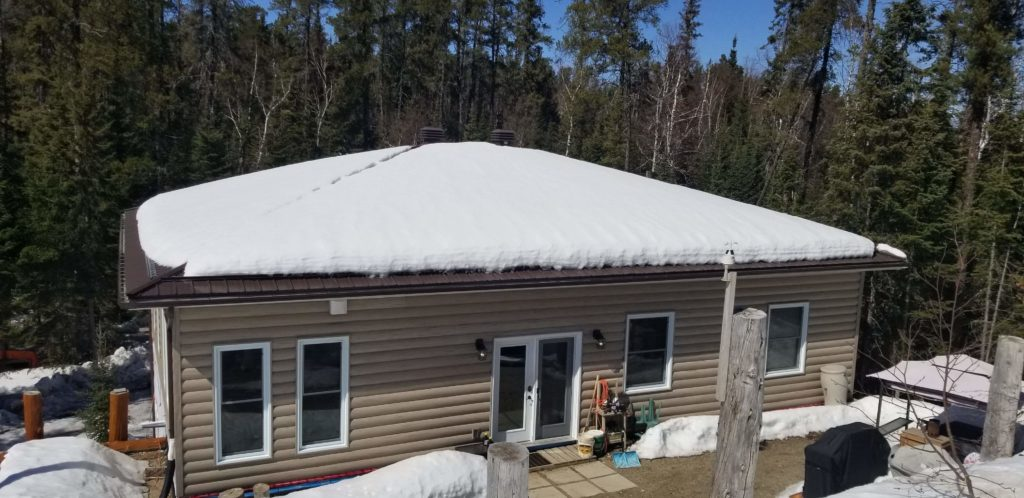 With S-5! Snow Retention System - ColorGard® and VersaGard™ in Northern Ontario-min