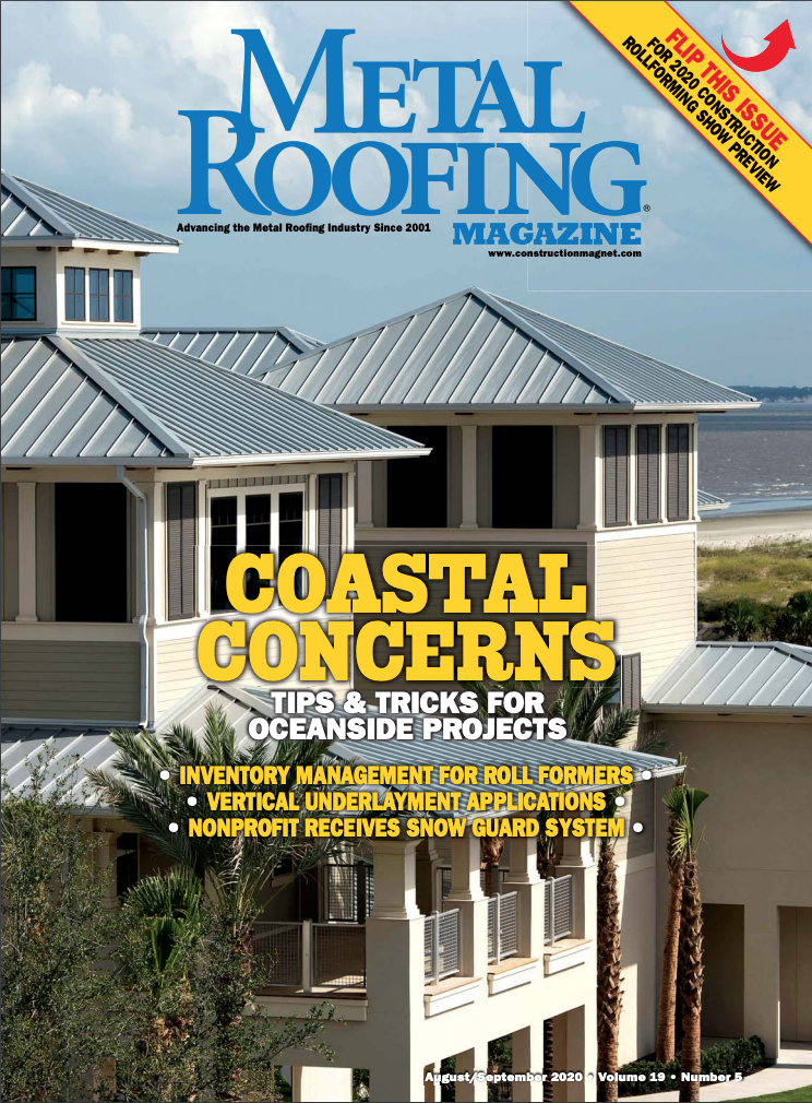 Metal Roofing Magazine Cover