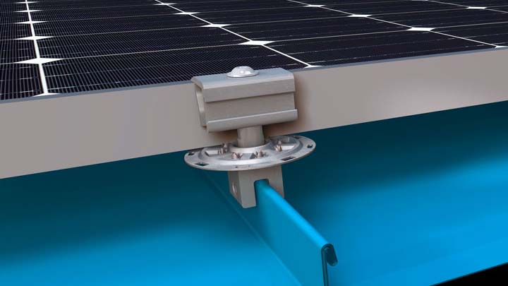 Standing Seam Metal Roof Solar Mounting Systems | Corrugated