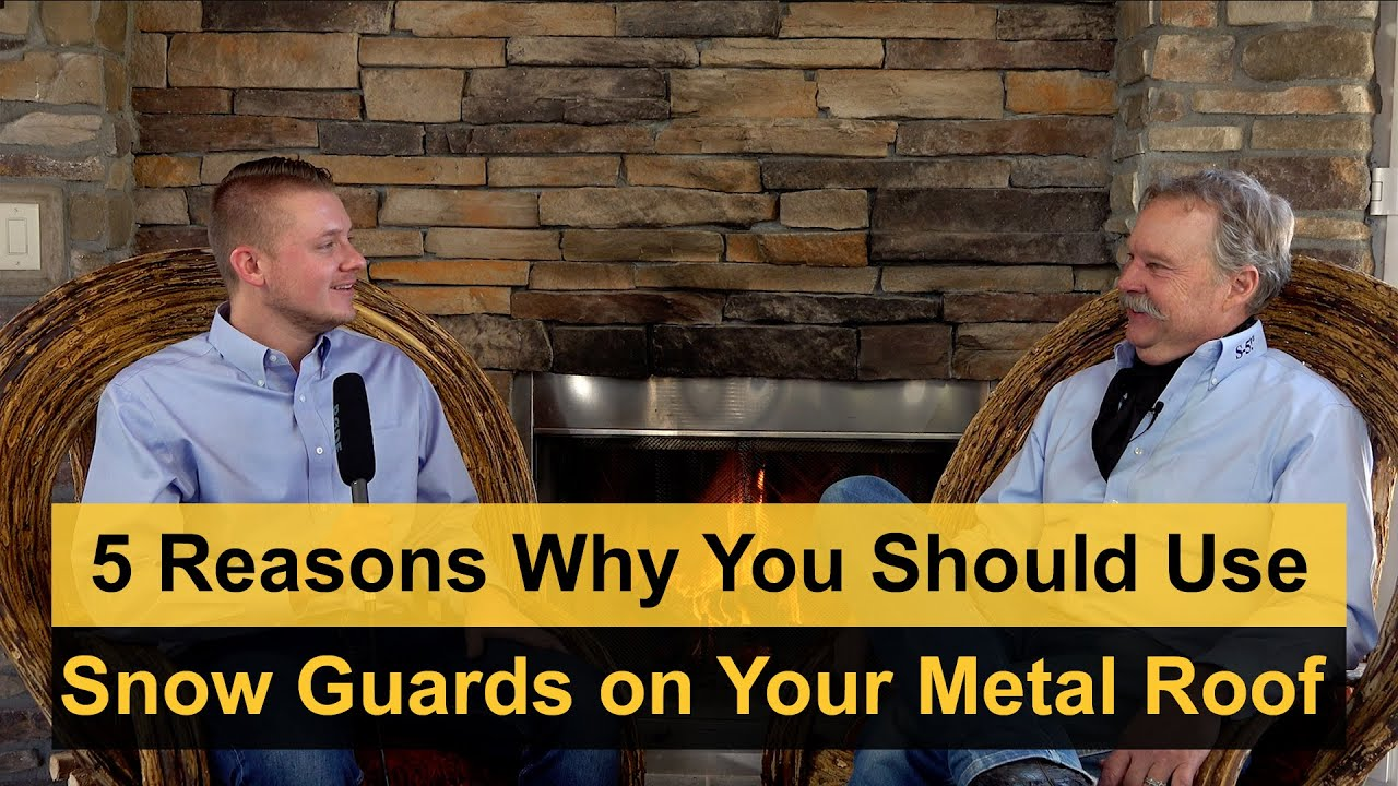 5 Reasons Why You Should Use Snow Guards on Your Metal Roof