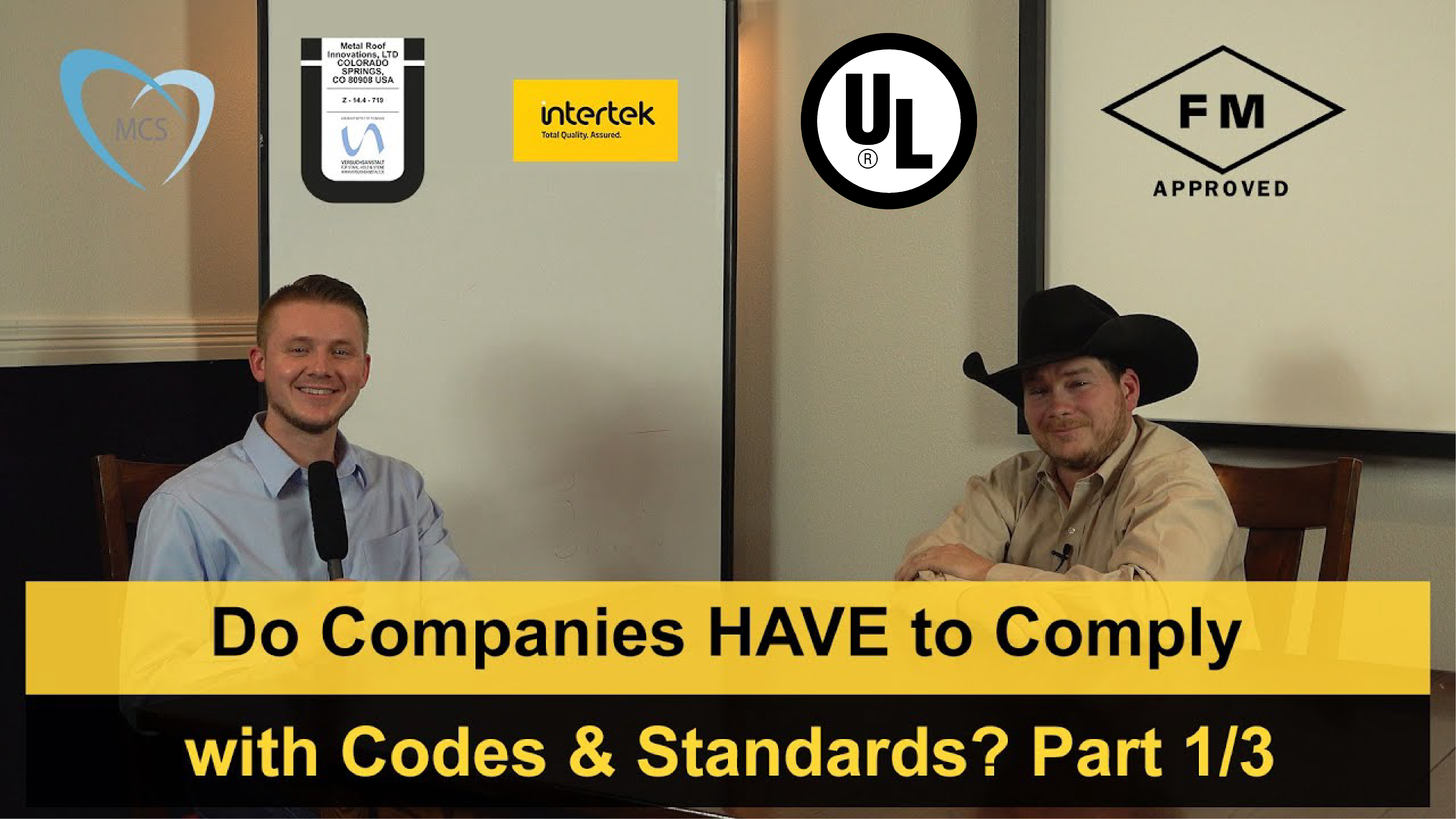 Do Companies HAVE to Comply with Codes & Standards?
