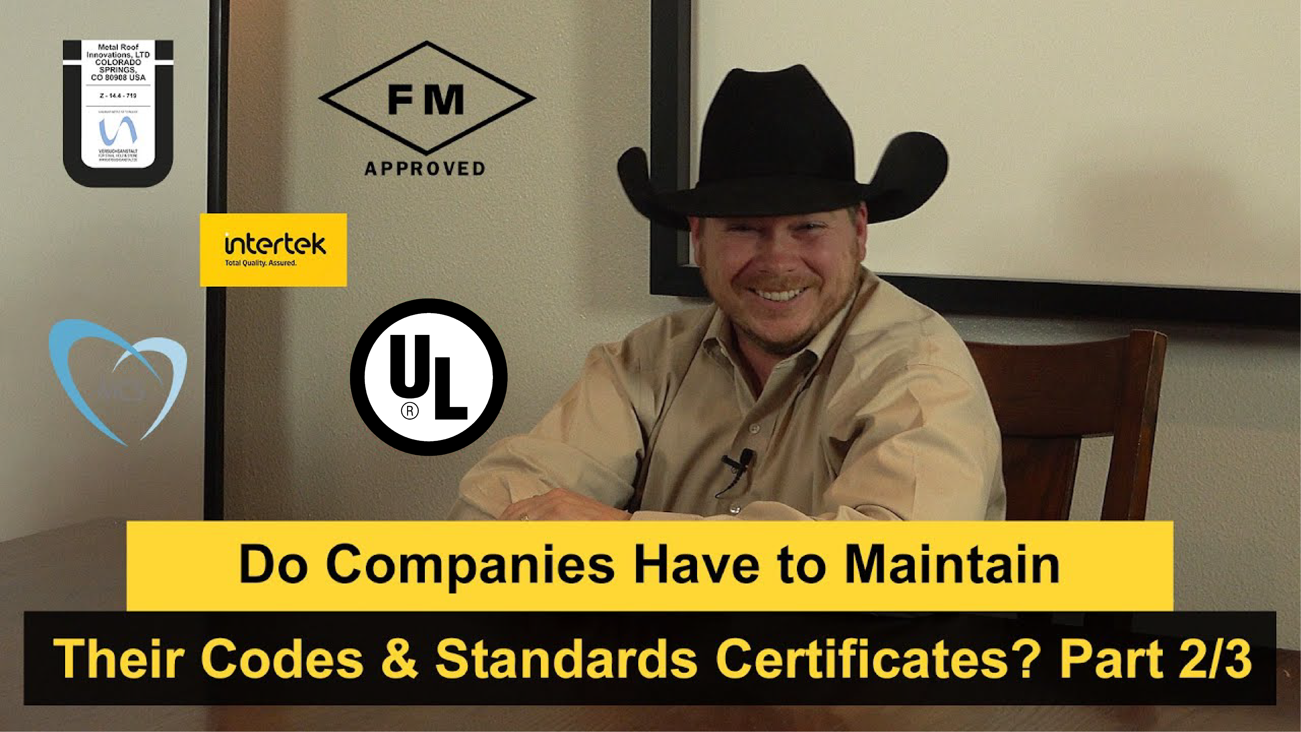 Do Companies Have to Maintain Their Codes & Standards Certificates?
