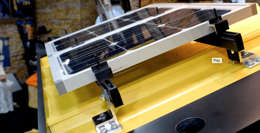 S-5! Solar Foot brings rail-mounted solar to exposed fastener metal roofs