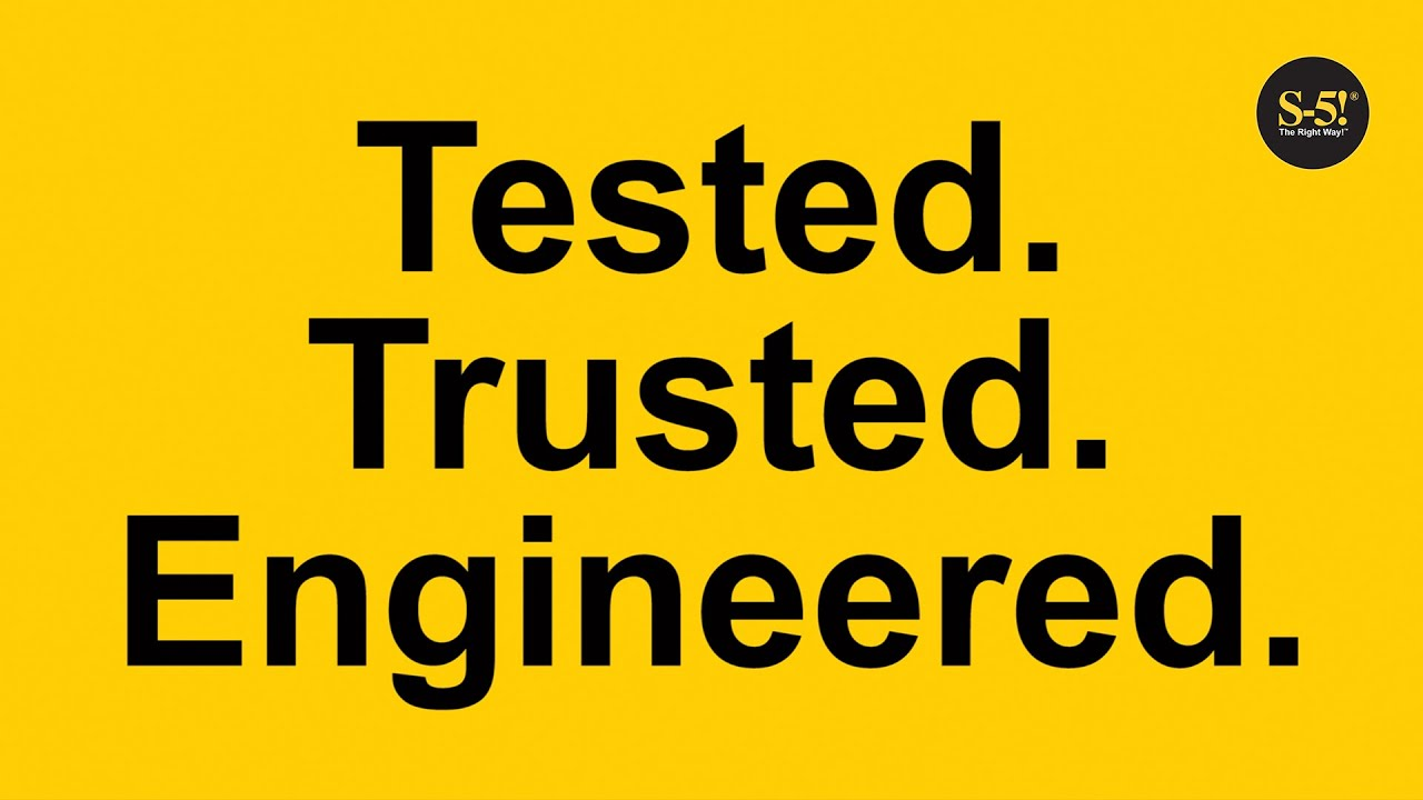Tested. Trusted. Engineered.