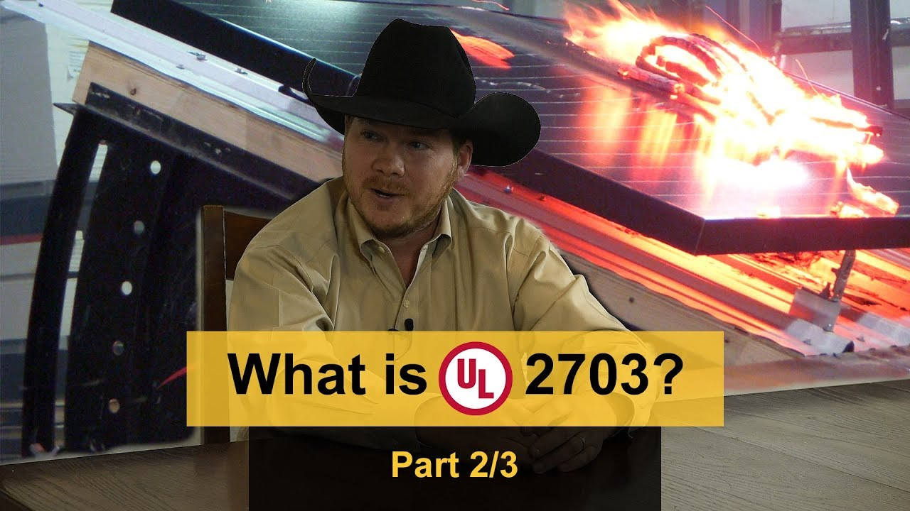 What is UL 2703?
